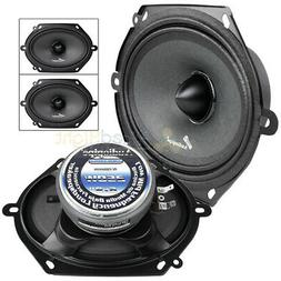 "1 Pair 6 x 8"" Max 250 Watts Car Loudspeaker Low Mid Frequenc"