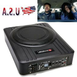 "10"" 600W Powered Car Under-Seat Subwoofer Amplifier Speaker"