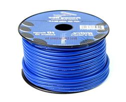 10 GA gauge 100 feet Blue Audiopipe Car Audio Home Primary R