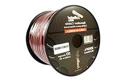 100 ft 10 Gauge awg Red Black Stranded 2 Conductor Speaker W