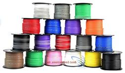10 Rolls 14 gauge 100 Feet Power Cable Car Audio Primary Rem