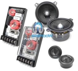 "FOCAL 100A1 SG 4"" 2-WAY COMPONENT SPEAKERS CROSSOVERS TWEETE"