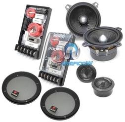 """100A1 - Focal 4"""" 2-Way Component Speakers System with Grills"""