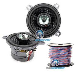 "pkg Focal 100CA1-SG 4"" 2-Way Coxial Speakers + 50 Foot Spool"