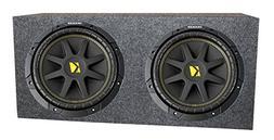 "2) KICKER 10C12D4 12"" 800W Dual 4-Ohm Comp Car Audio Subwoof"
