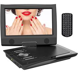 """ieGeek 11"""" Portable DVD Player with 9.5 inch Higher Brigh"""