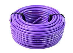 12 Gauge 50' Feet Purple Audiopipe Car Audio Home Remote Pri