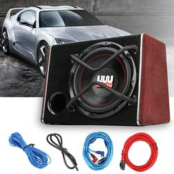 1200W 12 Inch Car Active Audio Subwoofer Powered Amplifer En