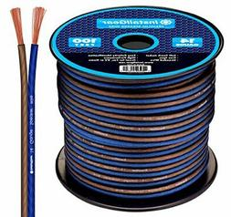14 Gauge AWG 100ft Speaker Wire True Spec and Soft Touch Cab