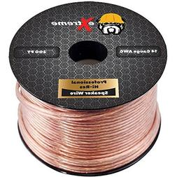250 Feet 14 Gauge Pure Copper Core Extreme Speaker Wire, Not