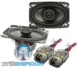 Memphis Car Audio 15-MCX462 4X6 2-WAY COAXIAL SPEAKER 15MCX4