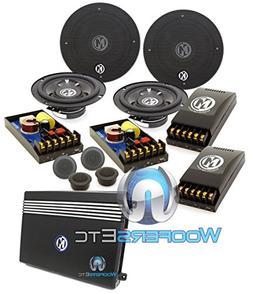 """pkg  15-SRX6C - Memphis 6.5"""" 50W RMS 2-Way Component Speaker"""