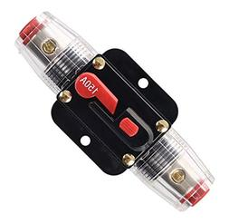 ANJOSHI 150A Fuse Holders Inline Circuit Breaker for Car Aud