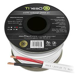 16 AWG CL2 OFC In Wall Speaker Wire, GearIT Pro Series 16 AW