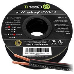 18AWG Speaker Wire, GearIT Pro Series 18 AWG Gauge Speaker W
