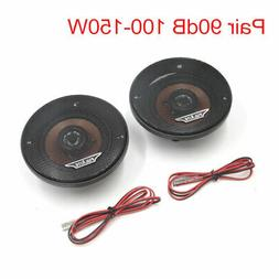 1Pair 90dB 100-150W 2-Way Stereo Audio System Coaxial Speake