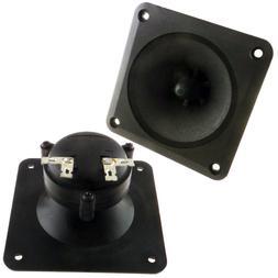 """3.25"""" x 3.25"""" Piezo Tweeter Car Audio DJ Speaker Super Horn"""