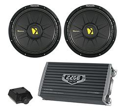 "2) New Kicker 40CWS104 10"" 1200W Car Audio Power Subwoofers"