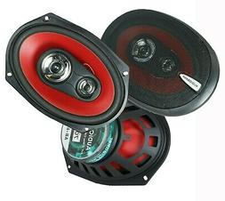 "2) Audiobank 6x9"" 1000 Watt 4-Way Car Audio Stereo Coaxial S"