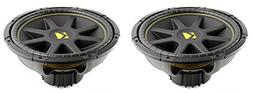 "2) NEW KICKER C15 15"" 1200W Dual 4-Ohm Comp Car Audio Subwoo"