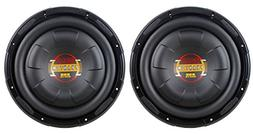 "Boss D10F 10"" 1600 Watt Slim Shallow Low Profile Car Audio"