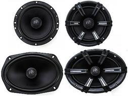 "2) MB Quart DK1-169 6x9"" 180W Discus Speakers + 2) DK1-116 6"