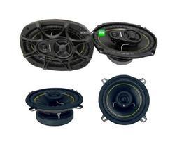 """2) NEW KICKER DS693 6x9"""" 280W Car Speakers + 2) KICKER DS525"""