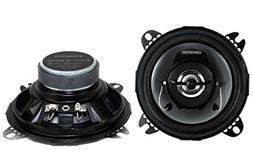 """2) New Kenwood KFC-1065S 4"""" 210 Watt 2-Way Car Audio Coaxial"""