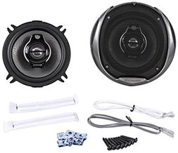 "2) New Kenwood KFC-1394PS 5.25"" 160W 3 Way Car Coaxial Audio"