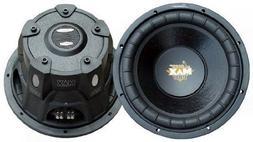 """2) LANZAR PRO MAXP84 8"""" 1600W Car Power Subwoofers Audio Sub"""