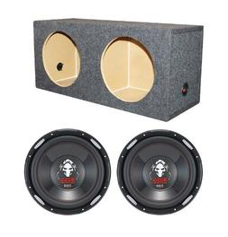 """2) Boss P126DVC 12"""" 4600W Car Power Subwoofers + Dual Sealed"""