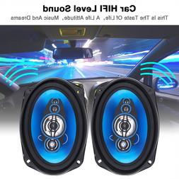 2 pcs <font><b>6x9</b></font> Inch 1000W 2 Way <font><b>Car<