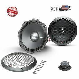 2) Rockford Fosgate PPS4-8 8-Inch 500 Watt 4-Ohm MidRange Ca