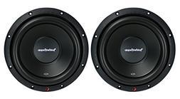 """2) New ROCKFORD FOSGATE R2D2-10 1000W 10"""" 2-Ohm Car Audio Su"""