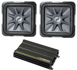 """2) KICKER S10L72 10"""" 2400W Car Audio Subwoofers Subs L7+ 12C"""