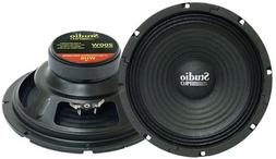 "2) PYRAMID WH8 8"" 400W DJ/Car/Home Subwoofers Replacement Sp"