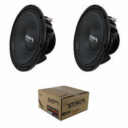 "2 x 8"" Midbass Speaker 1400W 8 Ohm Pro Car Audio PRV 8MB700F"