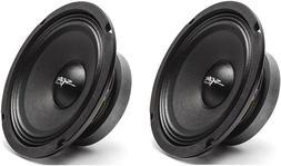 2 x Car Audio Speakers Midrange Loudspeakers 350 Watt 8 Inch