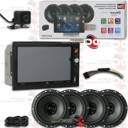 "DUAL 2-DIN 7"" DIGITAL MEDIA CAR STEREO USB BLUETOOTH + BACK"