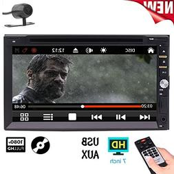 """2018 Latest Model- Wince 8.0 System 7"""" Double Din Car Radio"""