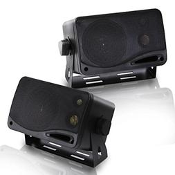 PYRAMID 2022SX 3.75 200W 3-Way Car Audio Mini Box Car/Inside