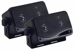 "PYRAMID 2022SX 3.75"" 200W 3-Way Car Audio Mini Box Car/Insid"