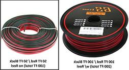 True 24 Gauge  99.97% OFC stranded oxygen free copper, Red /