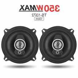 2Pcs 5 Inch 13cm 350W Car Audio Coaxial Full Range Frequency