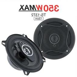 2x 13cm 350W 5Inch Audio Car Coaxial Music Stereo Full Range