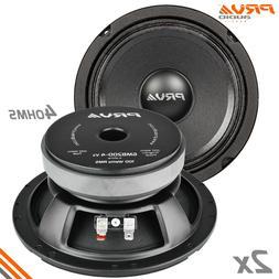 """2x PRV Audio 6MB200-4 v2 Mid Bass Car Stereo 6.5"""" Speaker 4"""