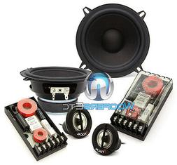 "3 pkg FOCAL HP5-M116 MIDS 5.25"" SPEAKERS + XO-13VR CROSSOVER"