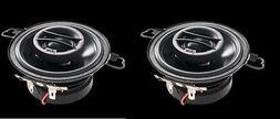 Powerbass S-3502 3.5-Inch Coaxial OEM Speakers, Set of 2