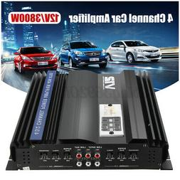 3800W 4 Channel Car Audio Amplifier Stereo Bass Power Subwoo
