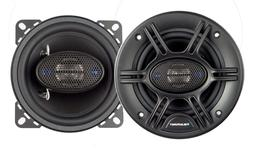 "BLAUPUNKT 4"" 4-WAY Car Audio Coaxial Speakers 480W MAX Power"